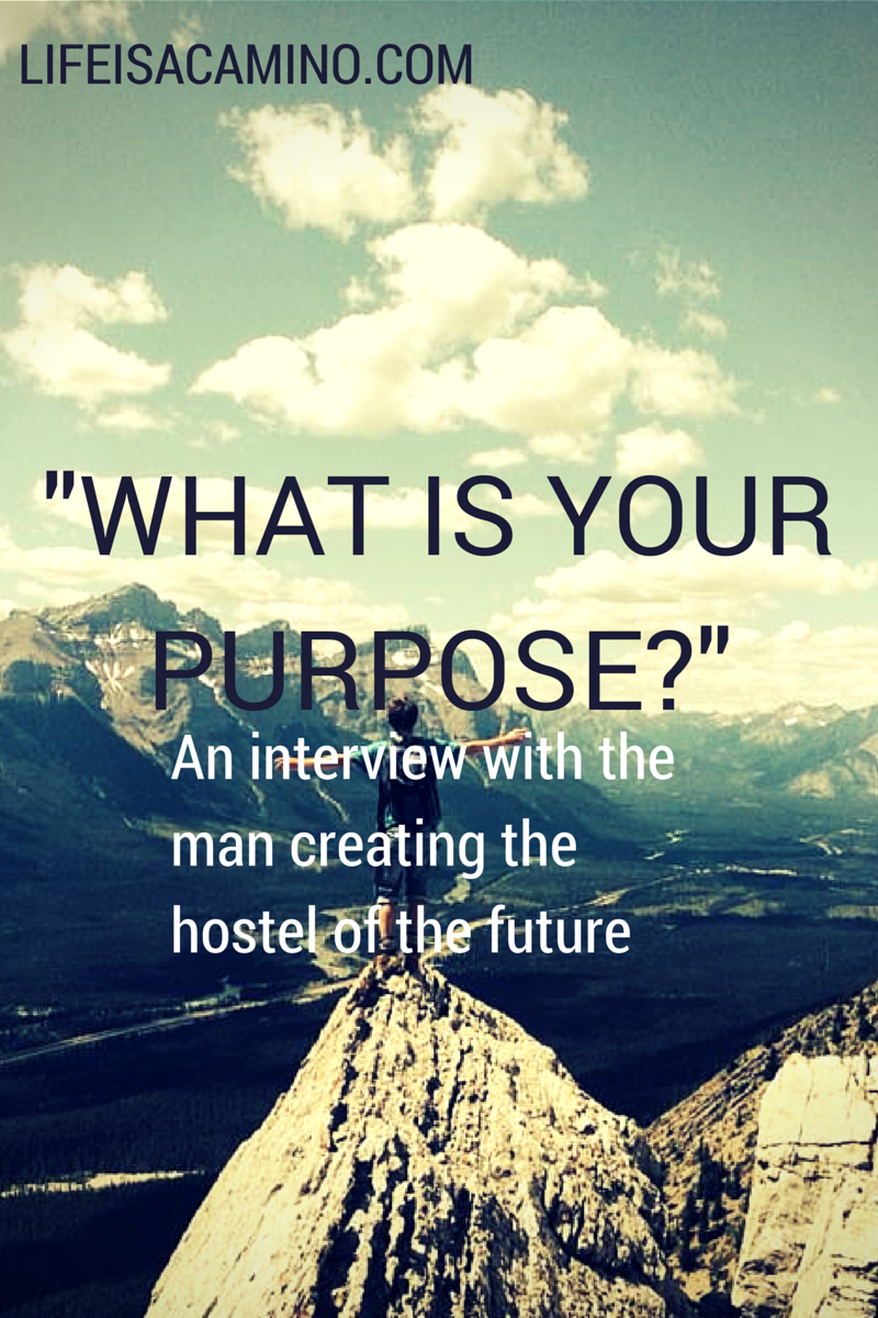 """""""What Is Your Purpose?"""" An Interview With The Man Creating"""