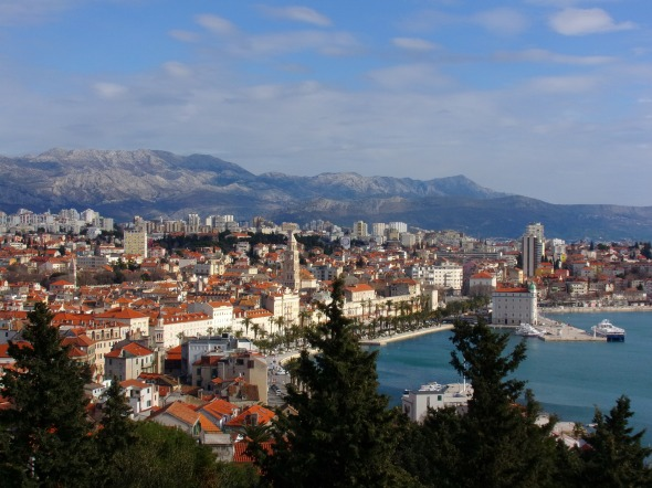 View of Split from Marjan