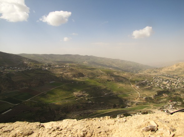 View from Karak